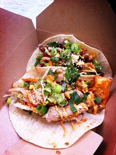 Kimchinary, specialising in Korean tacos #streetfood #streetfeastlondon