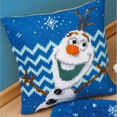 Olaf Frozen - Disney kruissteekkussen - Vervaco