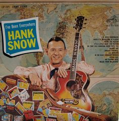 Hank Snow I Ve Been Everywhere Man - Snow Images and Description Old Vinyl Records, Vinyl Cd, Lp Cover, Vinyl Cover, Cover Art, Country Singers, Country Music, Snow Images, Piece Of Music