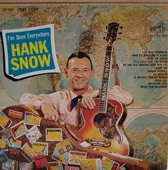 I've Been Everywhere — Hank Snow #vintage #vinyl #records