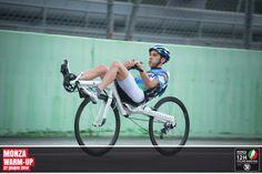recumbent bicycle Slyway endorphin700 (Monza Warm-Up 2014)