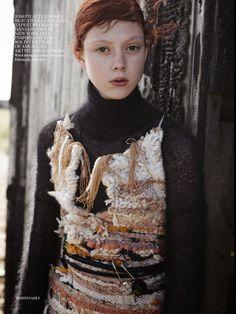Vogue UK October 2014   Natalie Westling by Karim Sadli