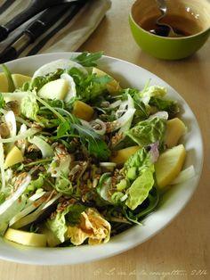 Salade de fenouil et pomme aux graines {graines de courge, fenouil, tournesol…} | Blog de cuisine bio : Le cri de la courgette...