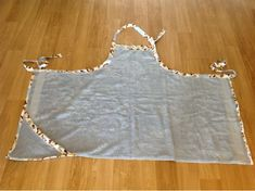 Creations Of Mine: Baby Bath Apron-no tutorial, just an example pic