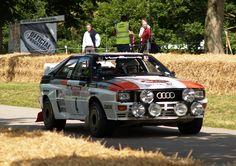 Hannu Mikkola, Arne Hertz Audi Quattro Sport