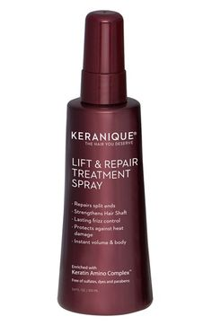KERANIQUE Lift & Repair Hair Treatment Spray available at #Nordstrom
