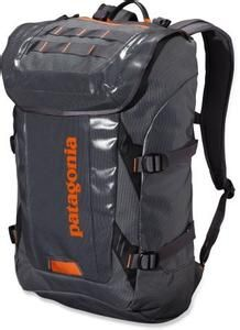 This Patagonia utilitarian backpack from Patagonia online combines the fortitude of a climber's haulbag with the everyday features necessary for the school and office commute. Highly weather-resistant. A lid pocket …