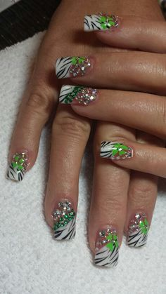 St pattys day with bling