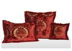 Torcello Collection Cushions - Tessitura Luigi Bevilacqua  #interior #design #fabric #cushions #boyac