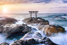 Isosaki-jinja Shrine in Oarai, Ibaraki Prefecture (© eyetronic - Fotolia.com)