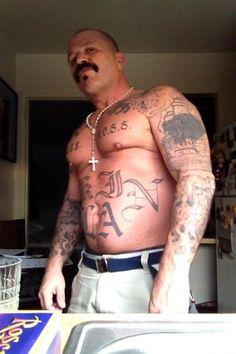 Inked up latino bad boy