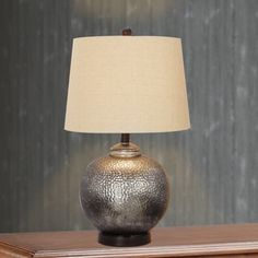 Shop for 24-inch Antique Brown Mercury Glass and Oil Rubbed Bronze Metal Table Lamp and more for everyday discount prices at Overstock.com - Your Online Home Decor Store!