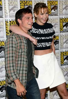 27 Times Jennifer Lawrence and Josh Hutcherson Proved They Have The Best Offscreen Relationship Ever - BuzzFeed