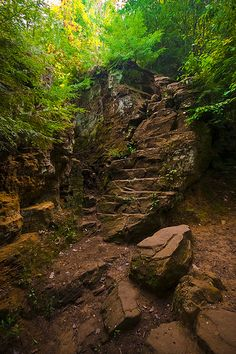 The Ledges, Grand Ledge, MI. by Lance Nelson, via Flickr.