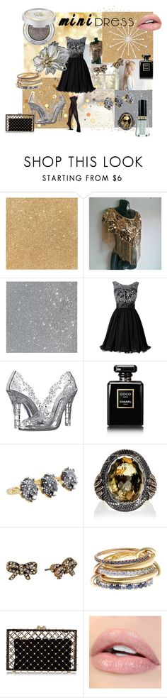 """""""Gold meets silver"""" by judas-sims-darkarts ❤ liked on Polyvore featuring Revlon, Dolce&Gabbana, Chanel, Gucci, Sevan Biçakçi, Marc Jacobs, SPINELLI KILCOLLIN, Charlotte Olympia and modern"""