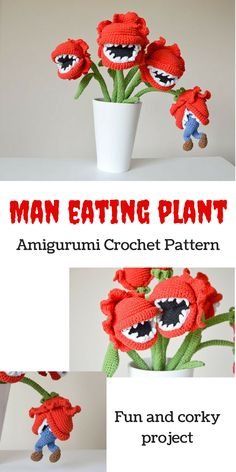 Such a fun project with lots of little pieces to make and put together, an opportunity to practice my crochet skills. #affiliatelink #etsy #funproject #crochetpattern #amigurumipattern