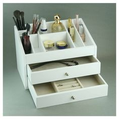 HomePointe Cosmetic Jewelry Box & Reviews   Wayfair