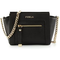 Furla Ginevra Mini Leather Crossbody Bag