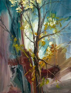 "Vie Dunn-Harr - painter / contemporary ... ""Vivid in Isolation"""