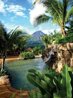 The Springs Resort & Spa, Costa Rica - a gorgeous place - visit the rain forests.  Very economical vacation!