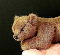 PDF pattern for Realistic Bear Alpha 7 inch long by Aerlinn Bears