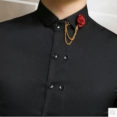 Tistabene Shirts are stylish, trendy and designer mens shirts at best price. We have trendy men's shirts, stylish men's shirts at best price. Collar Chain, Collar Clips, Cool Outfits, Fashion Outfits, Womens Fashion, Style Feminin, Mein Style, Oldschool, Character Outfits
