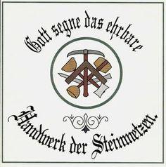 Dachdecker zunftzeichen tattoo  Poloshirt-mit-Zunftzeichen-Steinmetz | STeinmetz | Pinterest ...