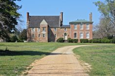 Bacon's Castle is located in Surry, VA.  It was built in 1665 and is the oldest brick building in British North America.  It is an example of Jacobean architecture.