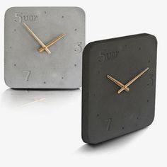 WertWerke - Hip Handcast Clocks by WertWerke | MONOQI