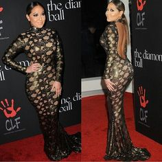 ❤ Adrienne Bailon's Dress