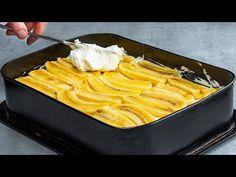 Egyik világszerte kedvelt banános és vastag krémes sütemény! - YouTube Creme, Cocoa, Food And Drink, Yummy Food, Ethnic Recipes, Kite, Dessert Recipes, Salads, Sweets