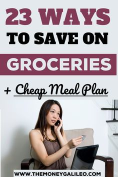 Wondering how to save on groceries every week? Here's a list of money saving ideas to shop for groceries on a budget without overspending. Find out what you need to do before, during, and after your visit to the grocery store to cut your grocery bill by 90 percent. Discover a cheap meal plan to eat healthy on a budget! Cheap Meal Plans, Cheap Meals, Financial Planning, Meal Planning, Save Money On Groceries, Saving Ideas, Eating Plans, Finance Tips, Ways To Save