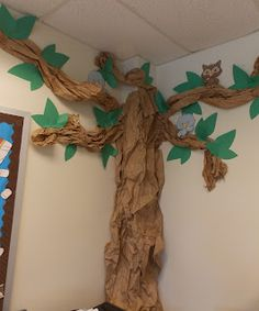 Classroom tree replace birds with monkeys and its perfect