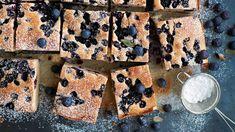 Helppo mustikkapiirakka - Yhteishyvä Sweet Recipes, Recipies, Deserts, Bread, Baking, Holiday, Food, Drinks, Recipes