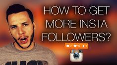 How to Get More Followers on Instagram? - WATCH VIDEO here -> http://makeextramoneyonline.org/how-to-get-more-followers-on-instagram/ -    Admit it.  We all want more to find out how to get more followers on Instagram without following people.  Some of us have probably even looked up how to buy Instagram followers or how to get free Instagram followers… but how do we get them the LEGIT way?  BMACadelic has you...