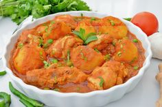 Mauritian Chicken Stew( Old Fashion Way) Chicken stew is a very popular dish in Mauritius. Best Chicken Curry Recipe, Chicken Recipes, Mauritian Food, Fried Onions, Curry Recipes, Coriander, Stew, Shrimp, Fries