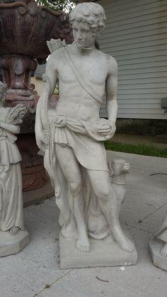 https://flic.kr/p/HzVHVN   Hunter Statue   Bazah Home Arts bazahhomearts.com