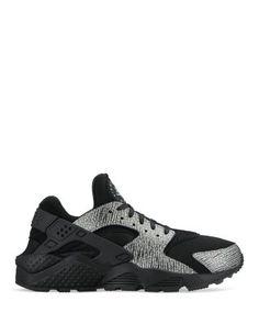 Nike Women's Air Huarache Run Premium Lace Up Sneakers | Bloomingdale's