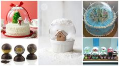 Surpise your family and friends with these edible snowglobes this Christmas!1. Gingerbread House in a snowglobeSource2. Snow Globe CakeSource3. Chocolate Glo...