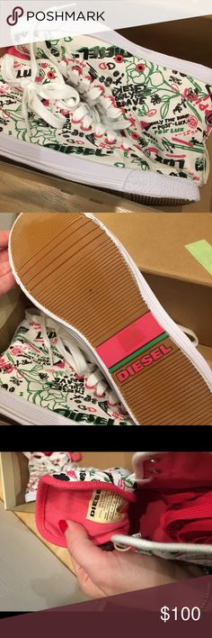 Diesel shoes Diesel shoes. Not my style anymore. Super comfortable. No returns. Diesel Shoes Sneakers