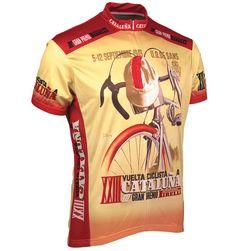 Buy Retro Cycling Jersey - 1943 Vuelta Cataluna - Mens 8cb2b7f3e