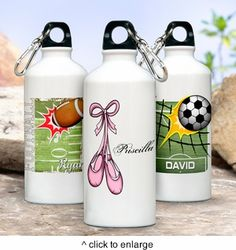 Personalized Kids Personalized Water Bottle