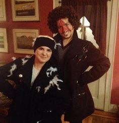 Couples Costume Ideas Harry and Marv from Home Alone #halloween #adult #costume