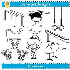 Gymnastics Stamps