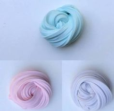 fluffy cotton candy slime - Google Search