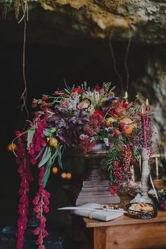fall centerpiece #weddingflowers /weddingchicks/