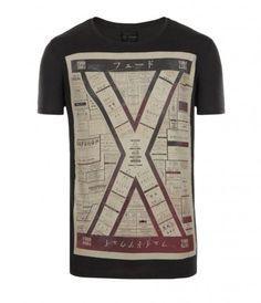 Junction Slouch Crew T-shirt  £40.00 All Saints