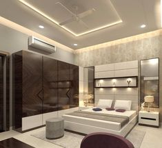 modern bedroom furniture sets and design catalogue. modern bed designs, modern bedroom furniture design, and wooden dressing table designs for bedroom. Bedroom Cupboard Designs, Wardrobe Design Bedroom, Luxury Bedroom Design, Bedroom Closet Design, Bedroom Furniture Design, Master Bedroom Design, Bedroom Ideas, Bedroom Modern, Trendy Bedroom
