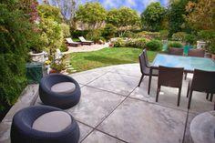 colored concrete patio pictures | Concrete Patio Design Ideas, Pictures, Remodel, and Decor