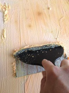 How To Strip and Stain Wood